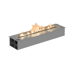 Fire Line Automatic 2 model E stainless steel | Fireplace inserts | Planika