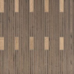 Wood Talk Mosaico Talk Beige/Brown | Ceramic mosaics | EMILGROUP