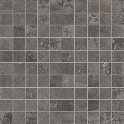 Dust Mosaico Black | Ceramic mosaics | EMILGROUP