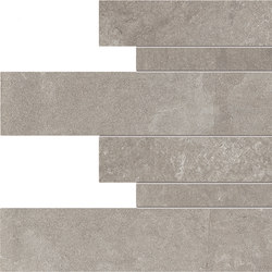 Dust Listelli Sfalsati Grey | Carrelages | EMILGROUP