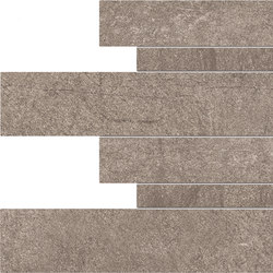 Dust Listelli Sfalsati Mud | Carrelages | EMILGROUP