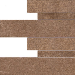 Dust Listelli Sfalsati Rust | Carrelage céramique | EMILGROUP