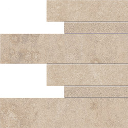 Dust Listelli Sfalsati Sand | Carrelage céramique | EMILGROUP