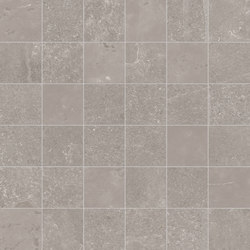 Groove Bright Grey Mosaico | Mosaici | EMILGROUP