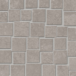 Groove Bright Grey Mosaico Penta | Mosaïques | EMILGROUP