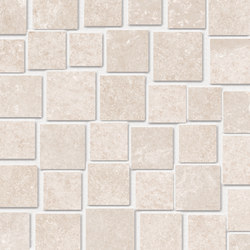 Groove Hot White Mosaico Penta | Ceramic mosaics | EMILGROUP