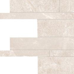 Groove Hot White Listelli sfalsati | Piastrelle ceramica | EMILGROUP