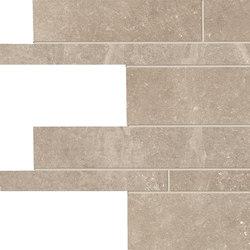 Groove Nude Beige Listelli sfalsati | Ceramic tiles | EMILGROUP