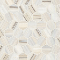 Re-Use Mosaico Design Bianco Ossigeno | Keramik Mosaike | EMILGROUP