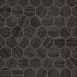 Re-Use Mosaico Design Nero Tungsteno | Ceramic mosaics | EMILGROUP