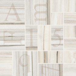 Re-Use Mosaico Alphabet Bianco Ossigeno | Ceramic mosaics | EMILGROUP