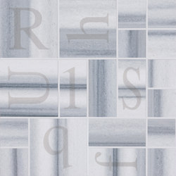Re-Use Mosaico Alphabet Grigio Mercurio | Mosaïques | EMILGROUP
