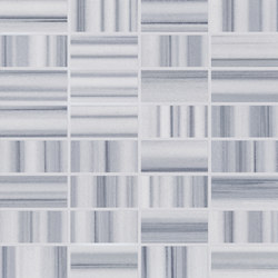 Re-Use Mosaico Simple Grigio Mercurio | Ceramic mosaics | EMILGROUP
