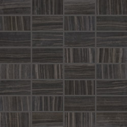 Re-Use Mosaico Simple Nero Tungsteno | Ceramic mosaics | EMILGROUP