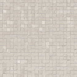 Zerodesign Mosaico Pietra Spaccata Asian Grey | Ceramic mosaics | EMILGROUP