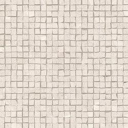Zerodesign Mosaico Pietra Spaccata Bolivian White | Mosaicos de cerámica | EMILGROUP