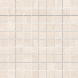Zerodesign Mosaico Sabbia Salar White | Ceramic mosaics | EMILGROUP
