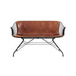 Wire Lounge Sofa | Bancs d'attente | Overgaard & Dyrman