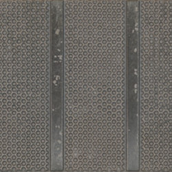 Terzo Tempo Listello Domino Grigio | Ceramic tiles | EMILGROUP