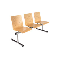 Index 4000/ 6000 | Beam / traverse seating | Stechert Stahlrohrmöbel