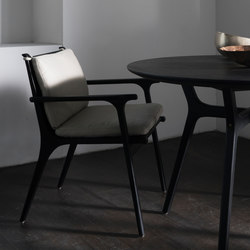 Rén Dining Armchair | Restaurant chairs | Stellar Works