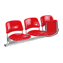 Berlin | Sedute da stadio | Stechert Stahlrohrmöbel