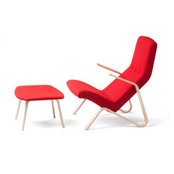 Grasshopper Lounge Chair and Ottoman | Poltrone lounge | Tetrimäki