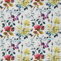 Eglantine Satine - Fuchsia | Curtain fabrics | Designers Guild