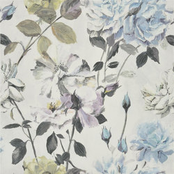 Couture Rose - Graphite | Tissus pour rideaux | Designers Guild