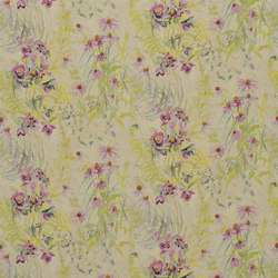 Champ De Fleurs - Peony | Tissus pour rideaux | Designers Guild