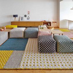 Silaï Rugs Blue 1 | Formatteppiche / Designerteppiche | GAN