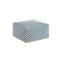 Silaï Big Pouf Blue 1 | Poufs | GAN