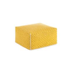 Silaï Big Pouf Yellow 4 | Poufs / Polsterhocker | GAN