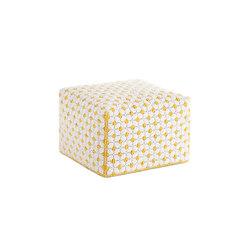 Silaï Small Pouf White 5 | Poufs | GAN