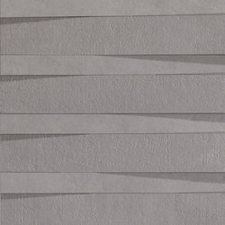 Metropolis | Muretto Avenue 3D Shanghai Iron | Wall tiles | Lea Ceramiche