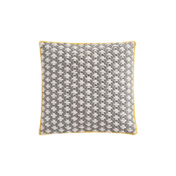 Silaï Cushion Light Grey/Blue 1 | Cojines | GAN