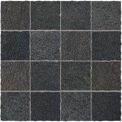 Tecnoquartz | Mosaico Anticato 7 Hard Black | Tiles | Lea Ceramiche