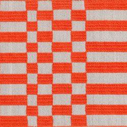 Bandas Single Rug B Orange 12 | Rugs | GAN