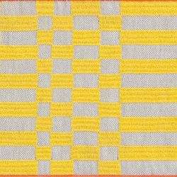 Bandas Single Rug B Yellow 13 | Tappeti / Tappeti d'autore | GAN