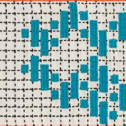 Bandas Single Rug C Turquoise 14 | Alfombras / Alfombras de diseño | GAN
