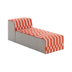 Bandas Chaiselongue B Orange 3 | Chaise longue | GAN
