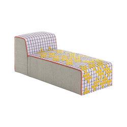 Bandas Chaiselongue C Yellow 6 | Chaise longues | GAN