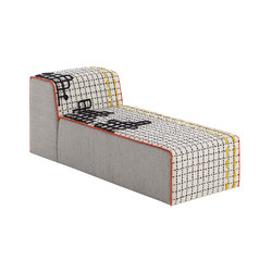 Bandas Chaiselongue D White 8 | Chaises longues | GAN