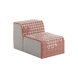 Bandas Chair A Pink 11   Sillones   GAN