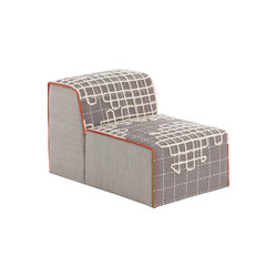 Bandas Chair A Grey 12 | Sessel | GAN
