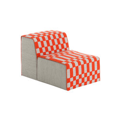 Bandas Chair B Orange 13 | Sillones | GAN