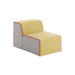Bandas Chair B Yellow 14 | Sessel | GAN