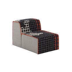 Bandas Chair D Black 17 | Sillones | GAN