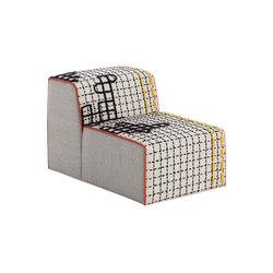 Bandas Chair D White 18 | Fauteuils | GAN