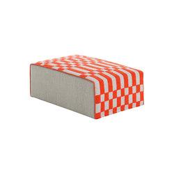 Bandas Big Pouf B Orange 23 | Poufs | GAN